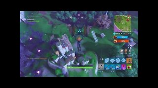 Getting my first object in Fortnite