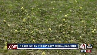 State awards six KC businesses license to grow medical marijuana