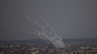 Israel Hits Gaza With Airstrike After Hamas Rocket Attacks