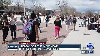 AAA Back-To-School Insurance Tips