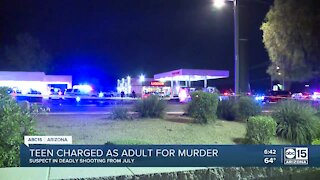 15-year-old arrested for deadly drive-by shooting in Phoenix