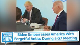 Biden Embarrasses America With Forgetful Antics During a G7 Meeting