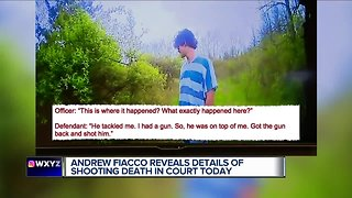 Confession video shows in Fiacco trial