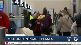 Millions head home from Christmas trips