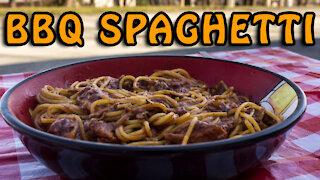 Dutch Oven BBQ Spaghetti