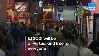 E3 2021 will be all-digital and free for everyone