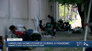Handling homelessness during a pandemic