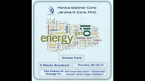 """Corstet 5 Minute Overview: Future Of Energy #7: GND """"Sustainable Growth"""" = Inflation?"""