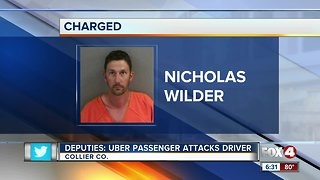 Man attacks Uber driver in Collier County