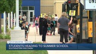 Students head to summer school