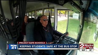 Keeping students safe at the bus stop