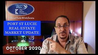 Port St Lucie Real Estate Market Update October 2020