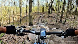 Devil's Drop mountain bike trail offers high speed thrills & adrenaline