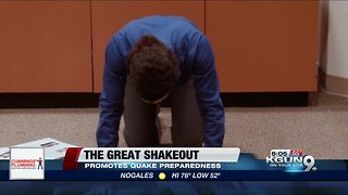 Great Arizona Shakeout Earthquake Drill planned