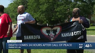 Woman killed after calls for peace