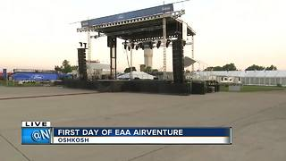 First day EAA Opening night concert