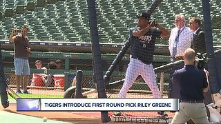 Tigers top pick Riley Greene soaking in draft experience
