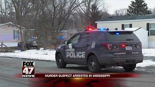 Lansing homicide suspect arrested in Mississippi