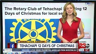 Rotary Club of Tehachapi hosting 12 Days of Christmas