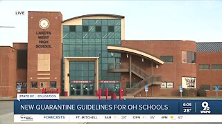 Lakota Schools hope new quarantine guidelines will prevent unnecessary disruption