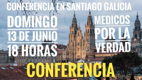 Anuncio de CONFERENCIA EN SANTIAGO DE Compostela domingo 13 de junio 18 horas