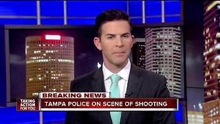 Tampa Police detectives investigating shooting