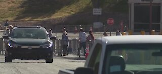Cashman COVID testing site back open after weekend closure