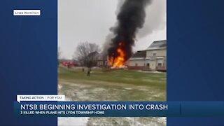NTSB beginning investigation into crash