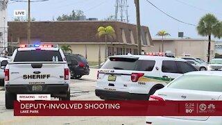 PBSO deputy fatally shoots person in Lake Park