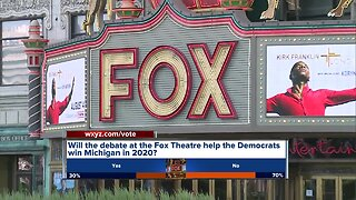 Detroit's Fox Theatre will host Democratic presidential debate in July