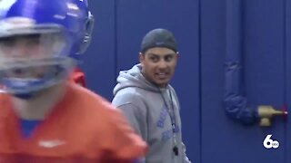Boise State football starts spring practices under new coach Andy Avalos