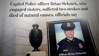 Wapo Admits They Lied About January 6th And Officer Bryan Sicknicks Death