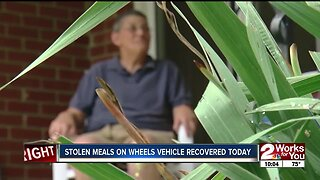 Stolen Meals on Wheels Vehicle Recovered Today