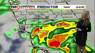 FORECAST: Mostly cloudy morning, wet Tuesday afternoon and evening