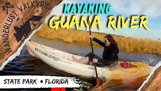 Struggle Against Windy Lowtide Guana River State Park Kayaking Florida