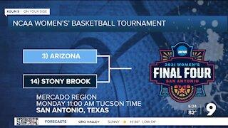 Arizona Women's Basketball to play Stony Brook on Monday
