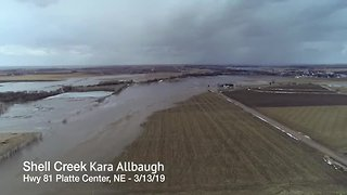 Shell Creek flooding