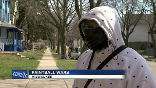 MPD issues warning after paintball shootings
