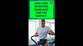 Top 3 Best Exercises For The Elderly *