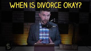 Is Divorce a Sin?