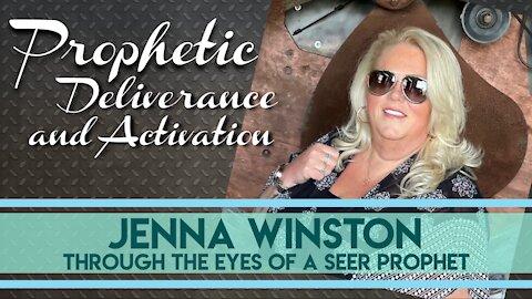 Prophetic Deliverance | Jenna Winston on Breath of Heaven with Janine Horak