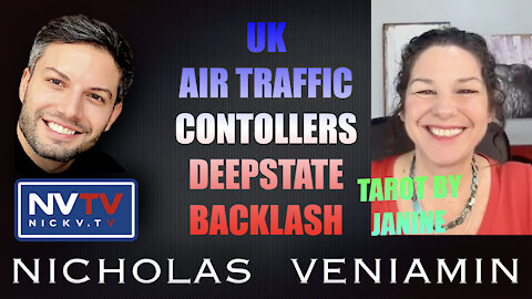 Tarot By Janine Discusses UK, Air Traffic Controllers, Deepstate Backlash with Nicholas Veniamin