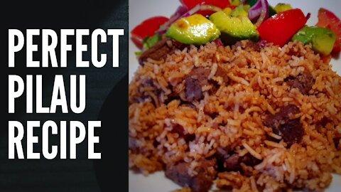 PERFECT AND EASY PILAU RECIPE | Kenyan (swahili) Recipe