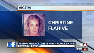 Missing Charlotte county case now a homicide