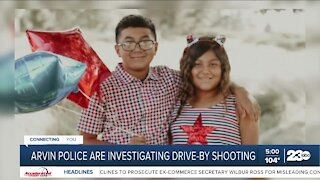 Arvin police investigating drive-by shooting that killed 10-year-old