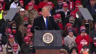 President Trump Visits Lansing