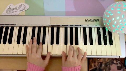 I play on piano for sleeping   Western Wind by Elaizz   sleep lullaby music