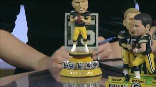 Bart Starr Green Bay Packers Special Edition Bobblehead Series Unveiled