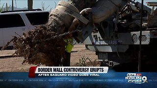 Border wall controversy erupts