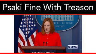 Jen Psaki Defend's General Milley Over Claims Of Treason